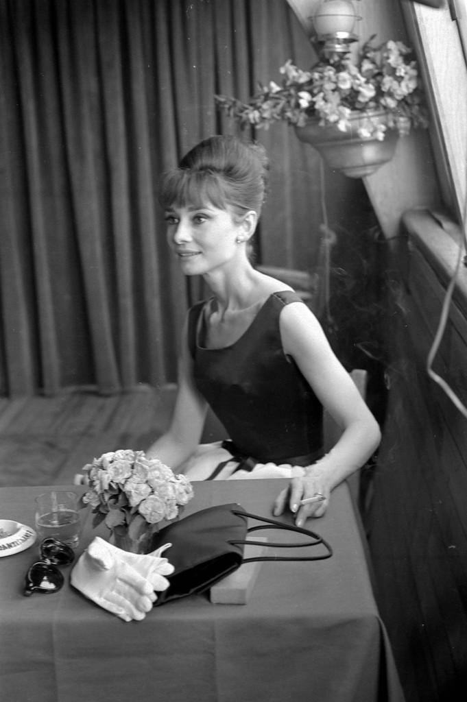 Foto: Audrey Hepburn, Paris, 1964.