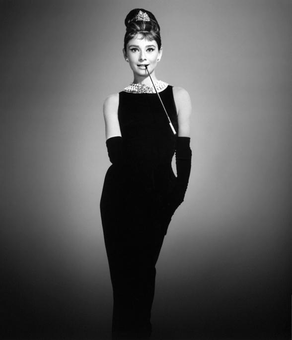 Foto: Rochia neagră Audrey Hepburn