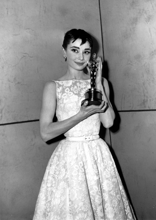 Foto: Audrey Hepburn rochia de seara