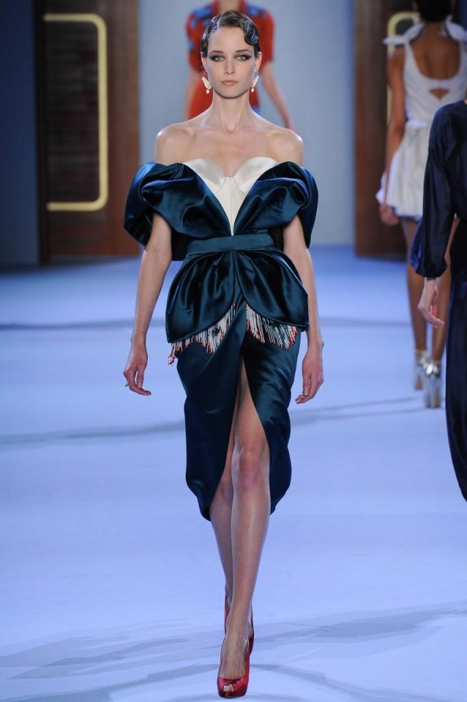 Photo Ulyana Sergeenko Couture Spring 2014 - 15