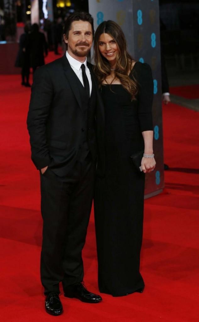 Christian Bale and wife, Sibi Blazic