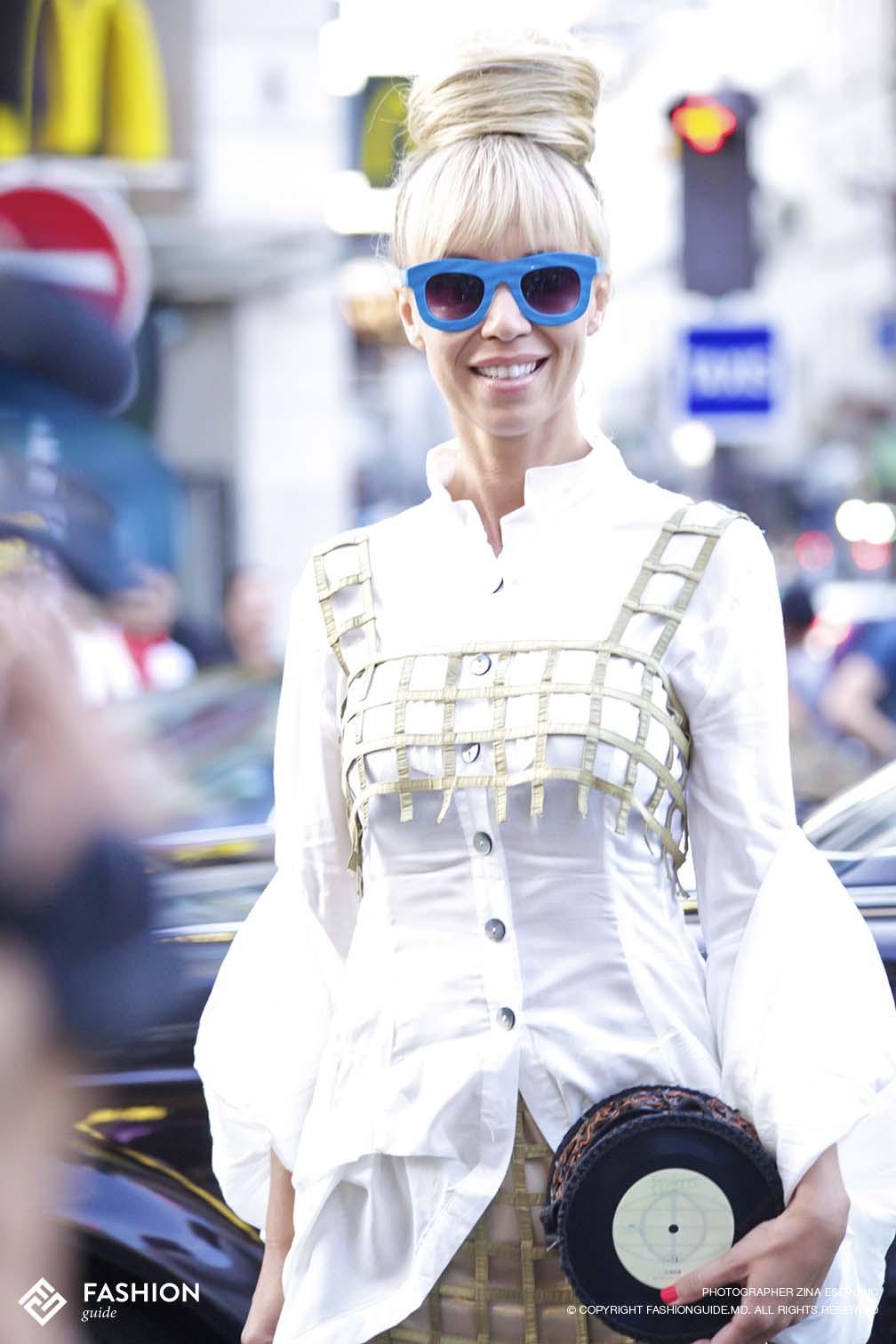 Jean Paul Gaultier Street Style 19