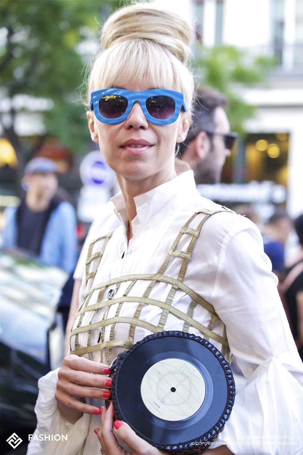 Jean Paul Gaultier Street Style 20