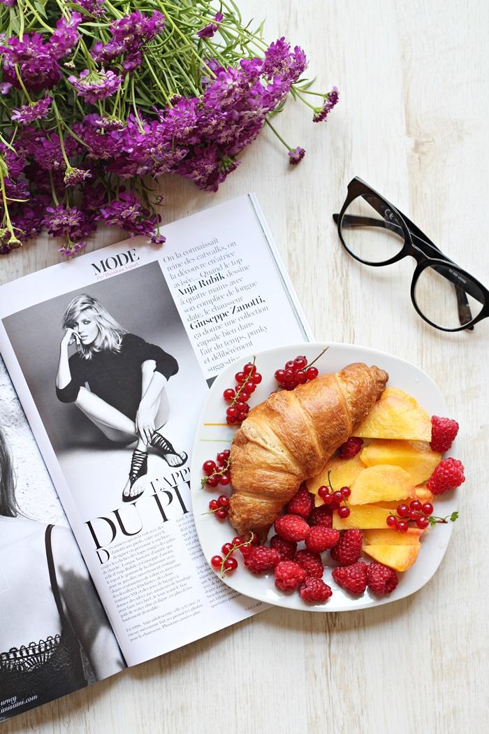 vanja, fashion and style blog, fruit, breakfast