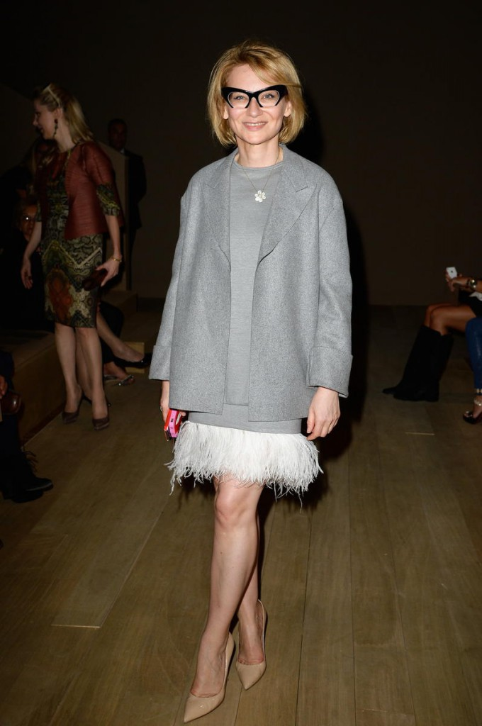 Valentino: Front Row - Paris Fashion Week Womenswear Spring/Summer 2014