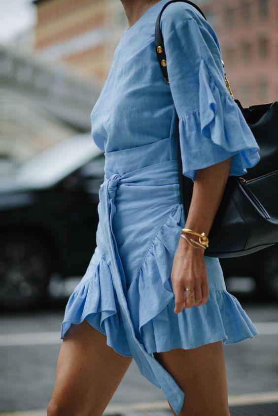ruffled dress 1
